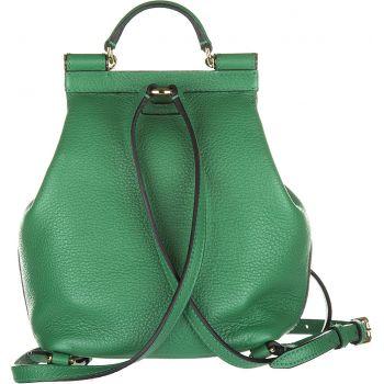 Rucsac verde de dama marca Dolce & Gabbana pe Gentuim